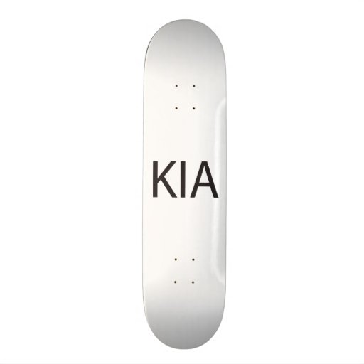 Killed In Action.ai Skate Decks