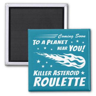 Killer Asteroid Roulette - Geek Astronomy Magnet