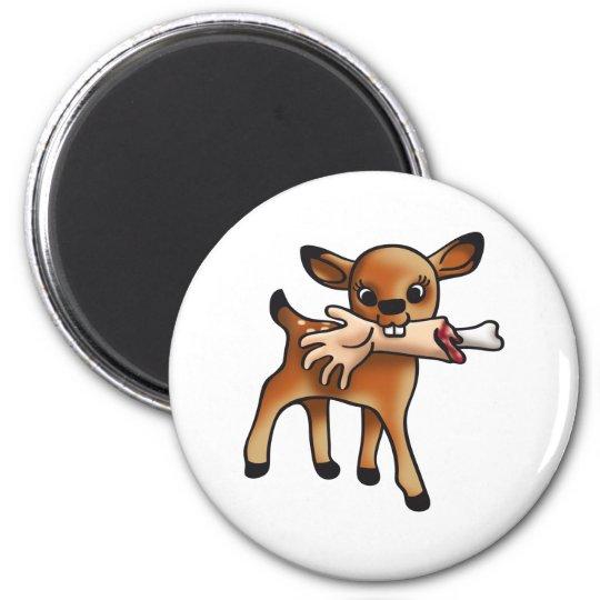 Killer Bambi 6 Cm Round Magnet