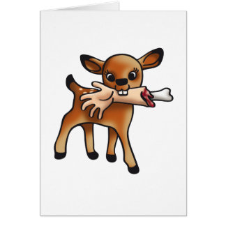 Killer Bambi Card