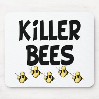 Killer Bees Mouse Pad