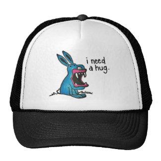 Killer Bunny Needs a Hug  Hat