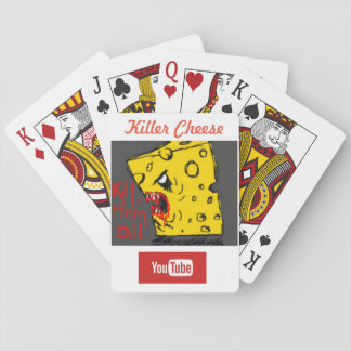 Killer Cheese Playing Cards