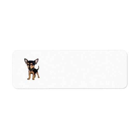 Killer Chihuahua Return Address Label