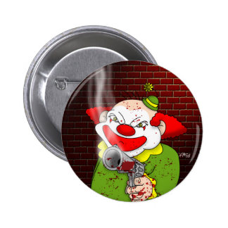 Killer Clown Button