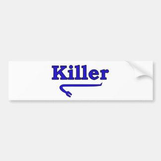 killer crowbar bumper sticker