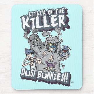 Killer Dust Bunnies Mouse Mat