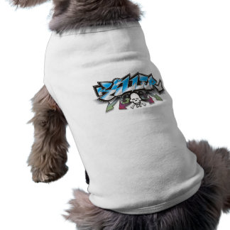 KILLER - Graffiti Design Dog Pet T-shirt  tshirt