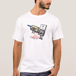 Killer Ipod Clipart (Cassette) Funny T-shirt