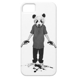 Killer panda case for the iPhone 5