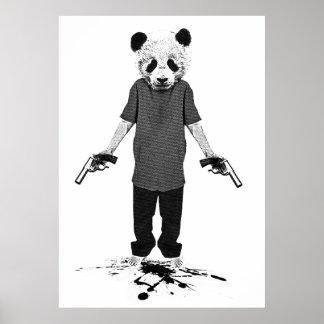 Killer panda poster