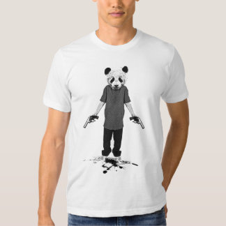 Killer panda tee shirt