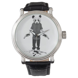 Killer panda wrist watches