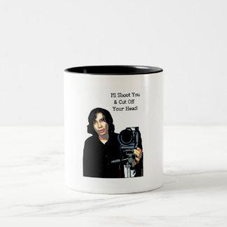 Killer Photo Two-Tone Coffee Mug