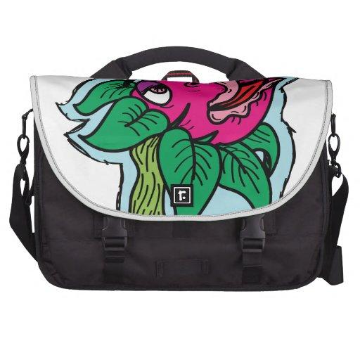 Killer plant laptop bags