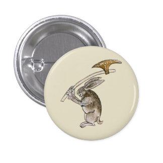 Killer Rabbit 3 Cm Round Badge