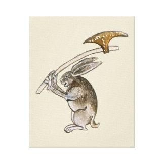 Killer Rabbit Canvas Print