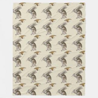 Killer Rabbit Fleece Blanket