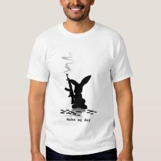 Killer Rabbit - Make my day T-Shirt
