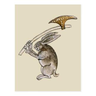 Killer Rabbit Postcard