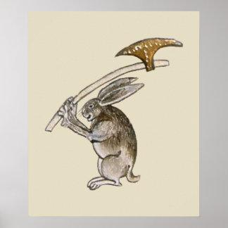 Killer Rabbit Poster