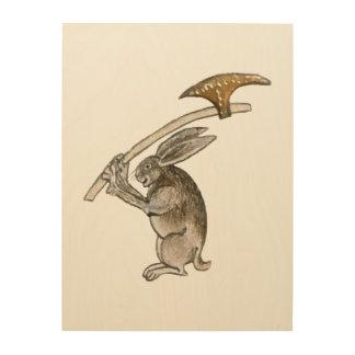Killer Rabbit Wood Canvases