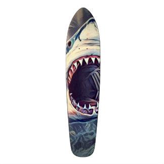 Killer Shark Element Cruiser Custom Pro Long Board Skateboard Deck