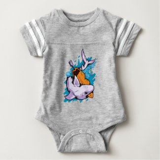 Killer Shrk Baby Bodysuit