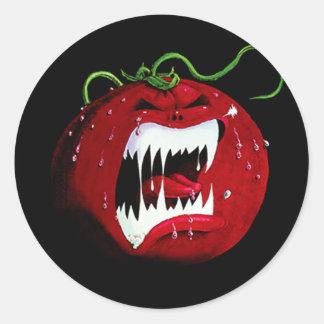 Killer Tomato Round Sticker