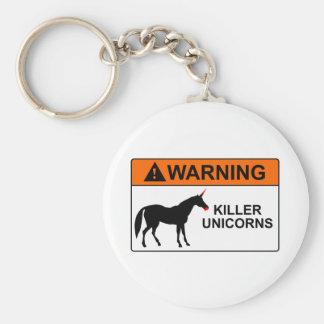 Killer Unicorns Key Chains