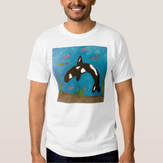 killer whale by Genevieve, Sandy & Gina T-shirt