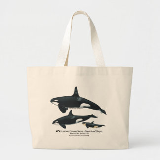Killer Whale Family Classical Bag