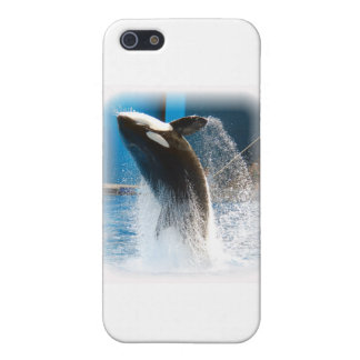 Killer Whale jumping iPhone 5 Covers