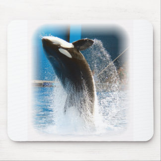 Killer Whale jumping Mouse Pads