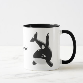 Killer Whale Just Add Name Mug