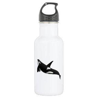 Killer Whale, Orcinus Orca 532 Ml Water Bottle