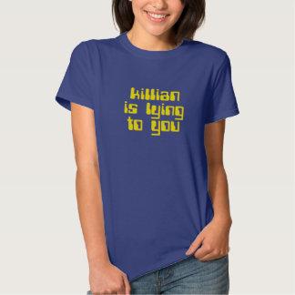 Killian is lying to you. The running man tee