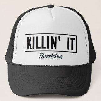 Killin' It Trucker Hat Boss Babe 72marketing