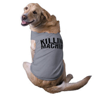 killing machine sleeveless dog shirt