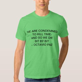 killing time tshirts