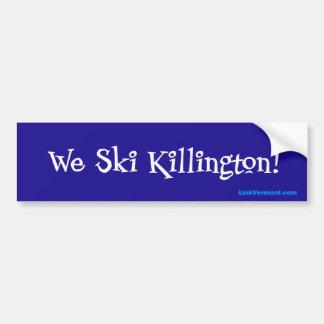 Killington Bumper Sticker