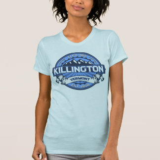 Killington Logo Blue Tee Shirts