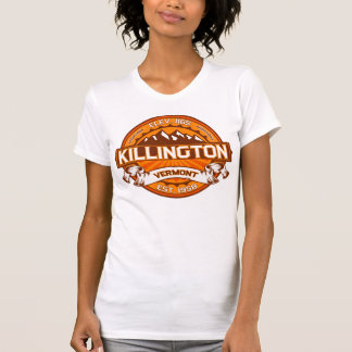 Killington Logo Tangerine Tees