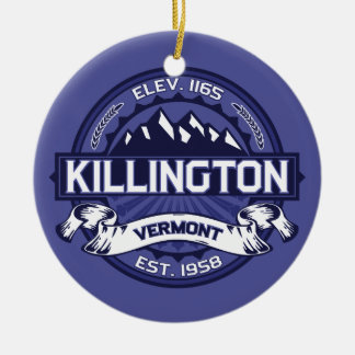 Killington Midnight Christmas Ornament
