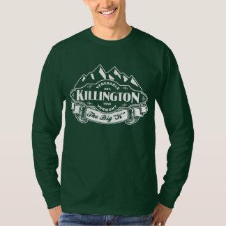 Killington Mountain Emblem White T-Shirt