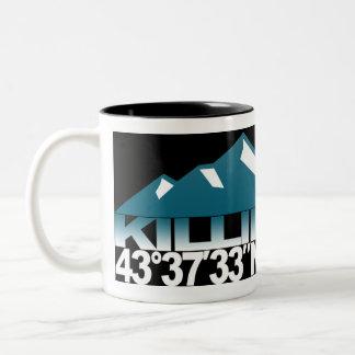 Killington Mountain GPS Ice Mug