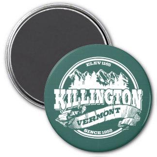 Killington Old Circle White 7.5 Cm Round Magnet