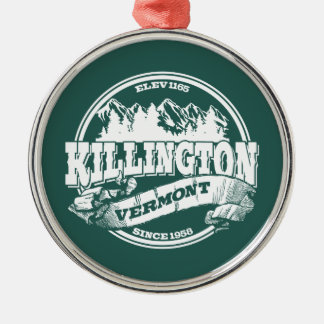 Killington Old Circle White Christmas Ornament
