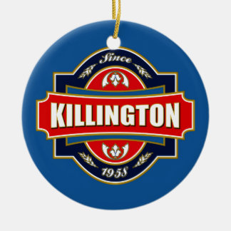 Killington Old Label Christmas Ornament