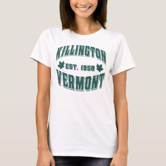 Killington Old Style Vermont Green T-Shirt